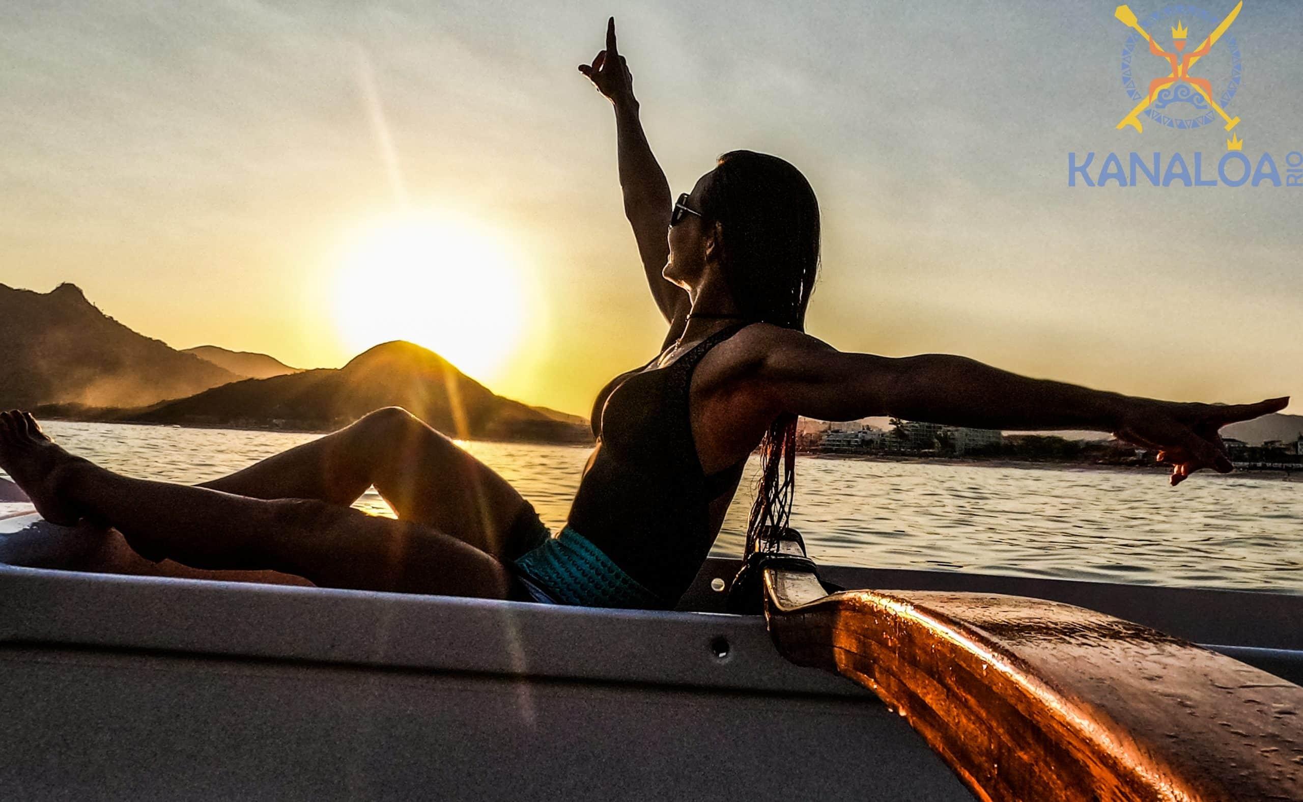 Passeio Turístico Canoa Havaiana no Rio de Janeiro