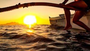 Nascer do Sol Canoa Havaiana