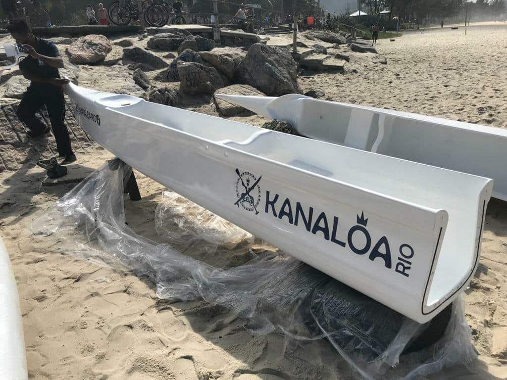 UYARA OC6+1: A canoa havaiana que é novidade no Brasil