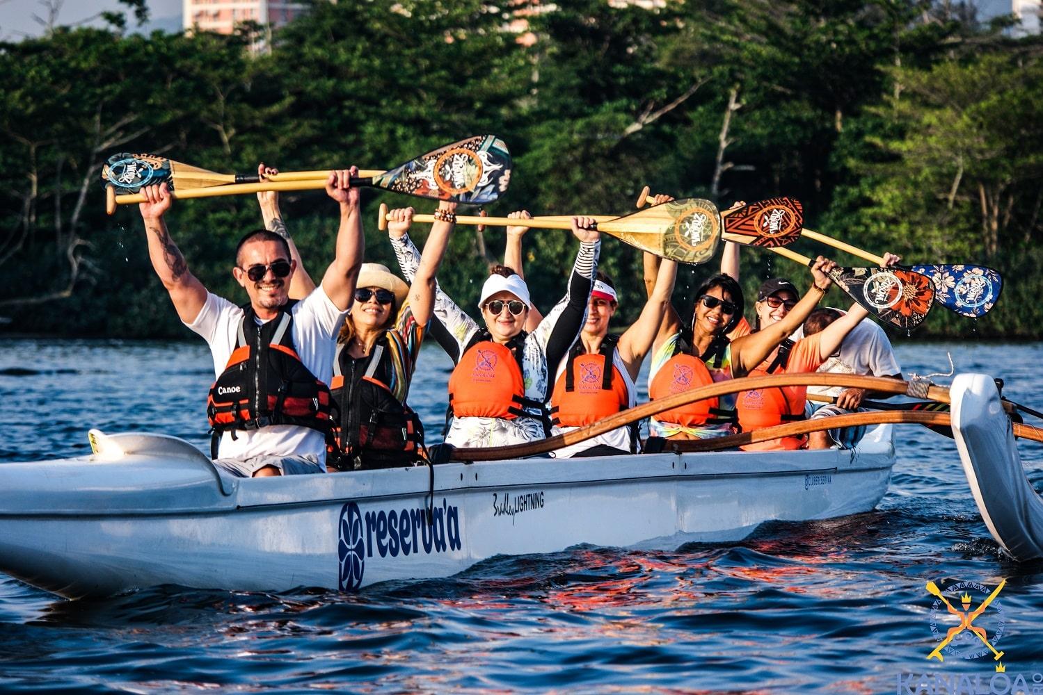 Canoa Havaiana Guia de Remos Fabricados no Brasil
