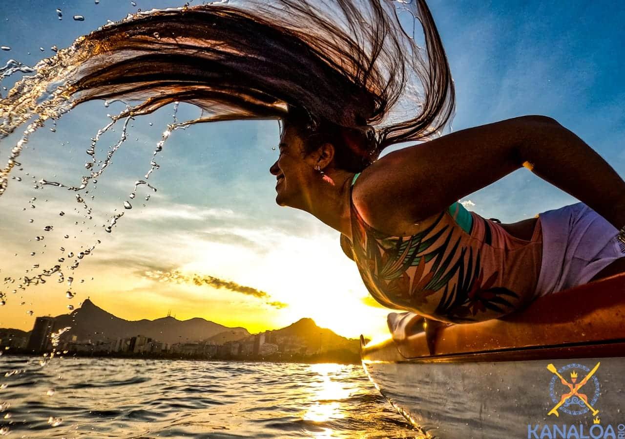Canoa Havaiana é forte aliada do rejuvenescimento natural