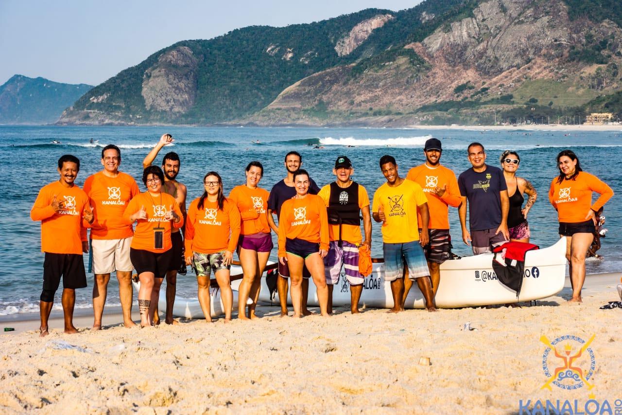 Maior Clube de Canoa Havaiana do Rio de Janeiro