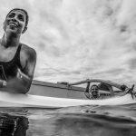 aula de canoa havaiana na marina da glória