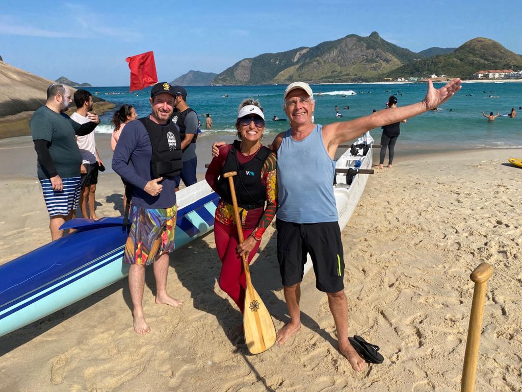 Canoa Havaiana um esporte para todas as idades!