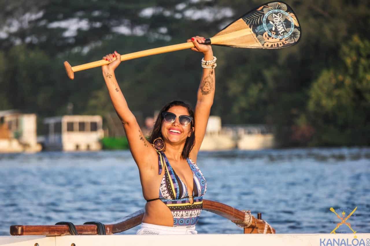 Como escolher o remo para canoa havaiana
