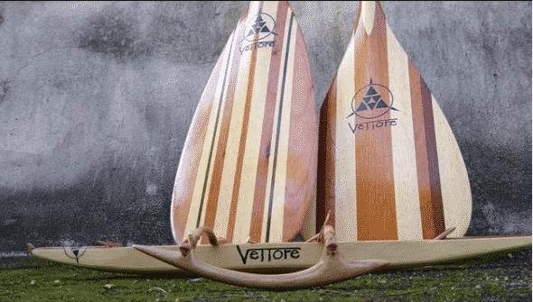 Remos de Canoa Havaiana Vettore : resistência e durabilidade