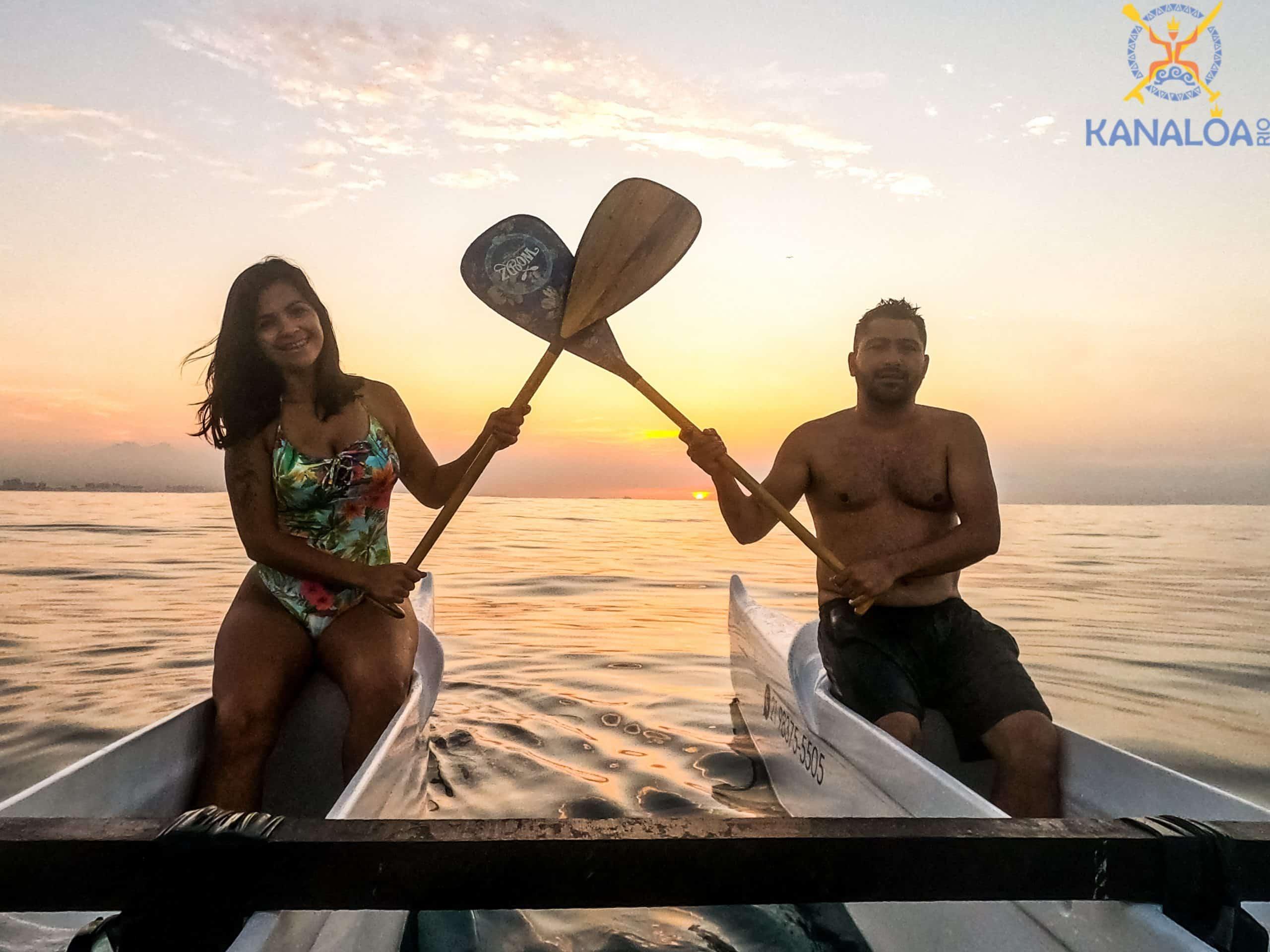 aula de canoa havaiana recreio