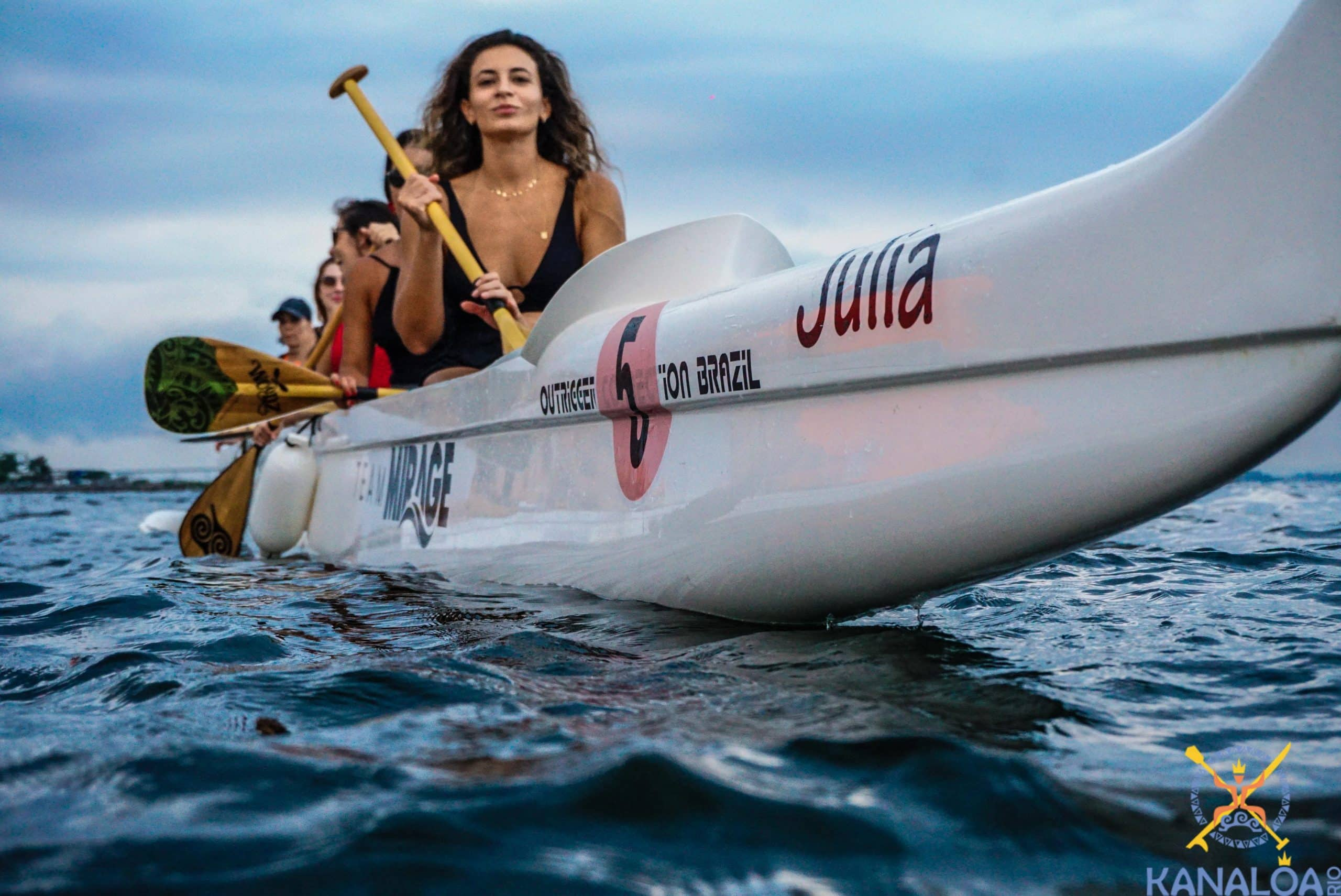 canoa havaiana flamengo