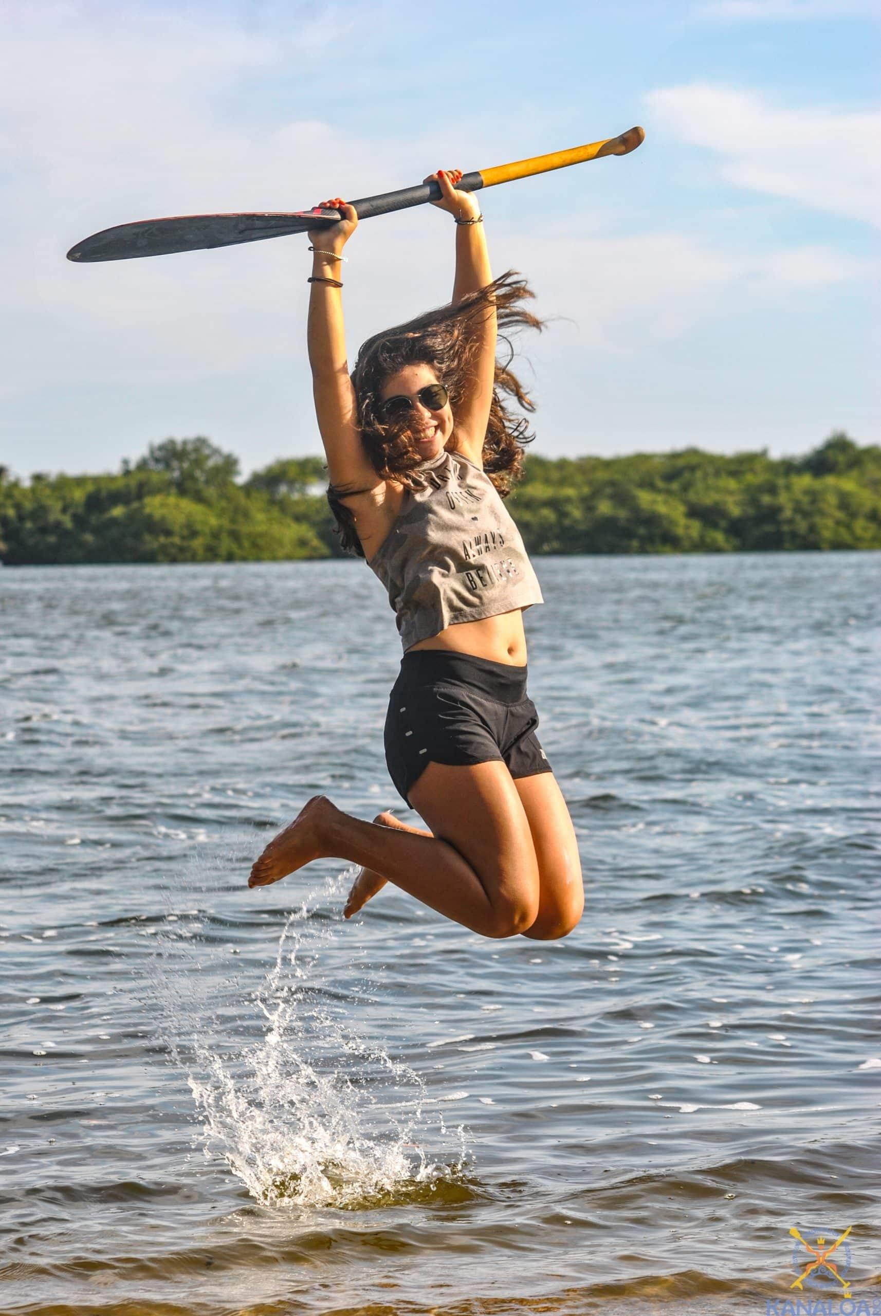 aula de canoa havaiana lagoa da barra