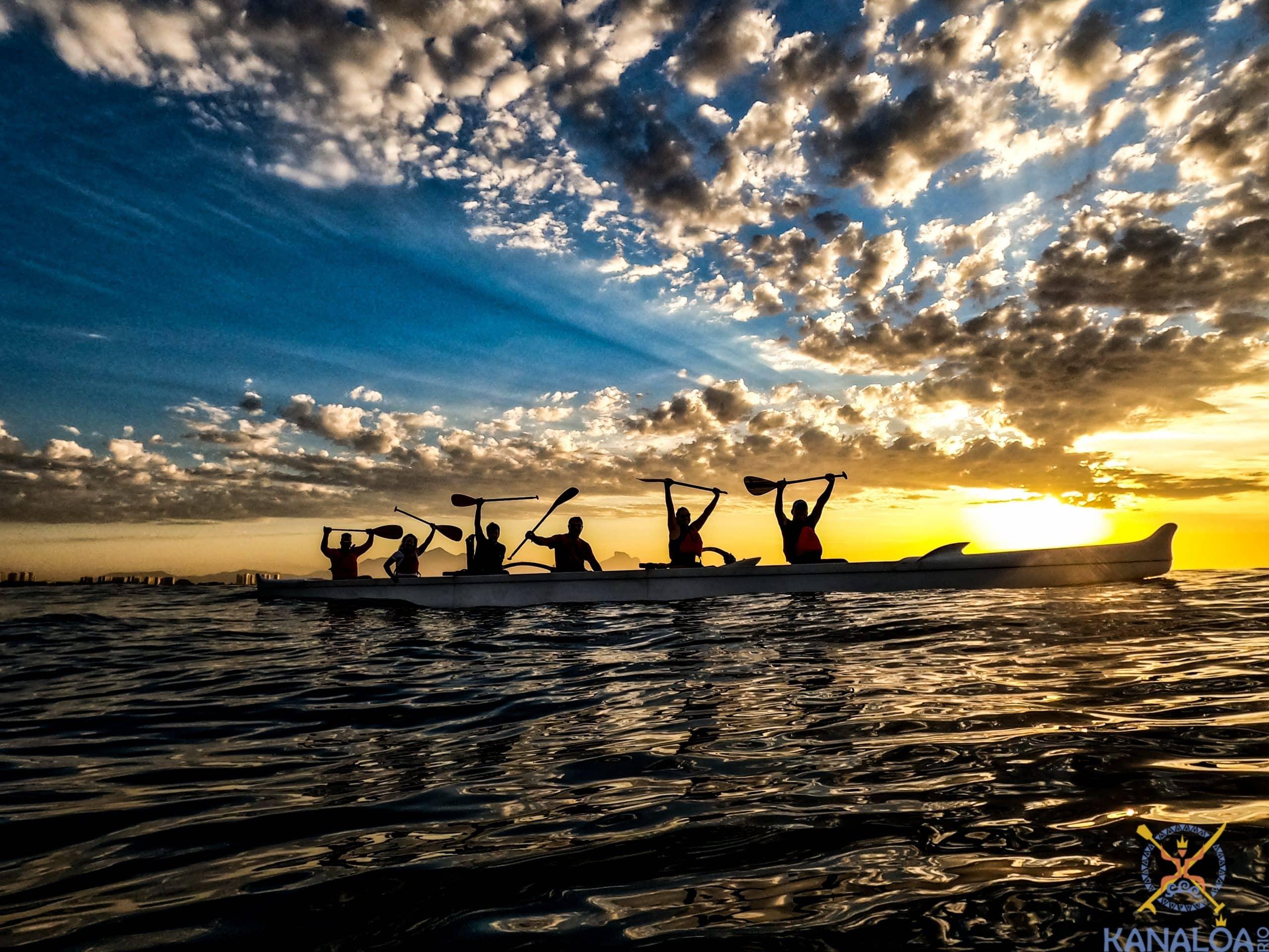 aula canoa havaiana recreio dos bandeirantes