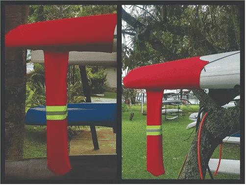 Transporte da sua Canoa Havaiana – Capa modelo SOCKS