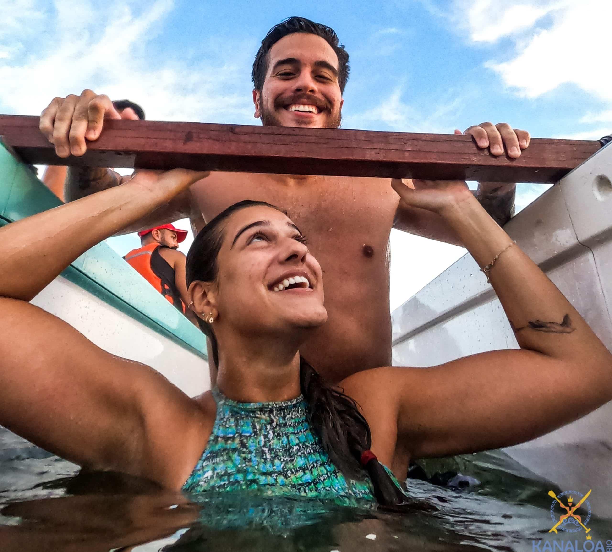 Remar Canoa Havaiana ou Polinésia emagrece?