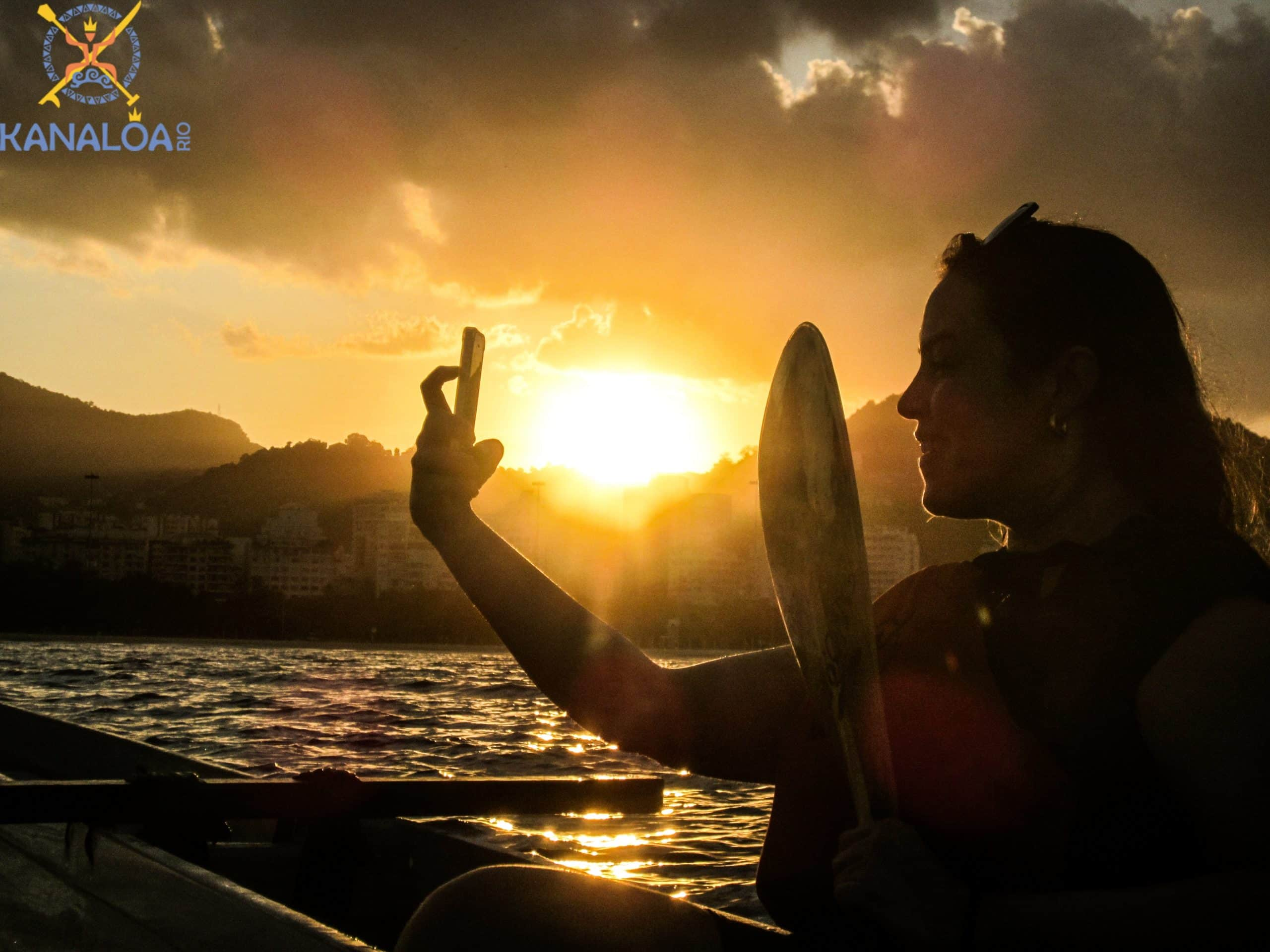 aula de canoa havaiana