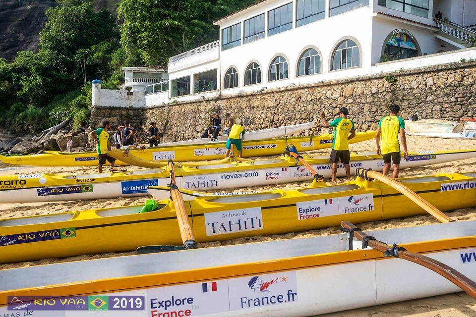 Aito Brasil Rio VA´A Canoa Havaiana