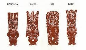 História dos deuses havaianos Kane e Kanaloa